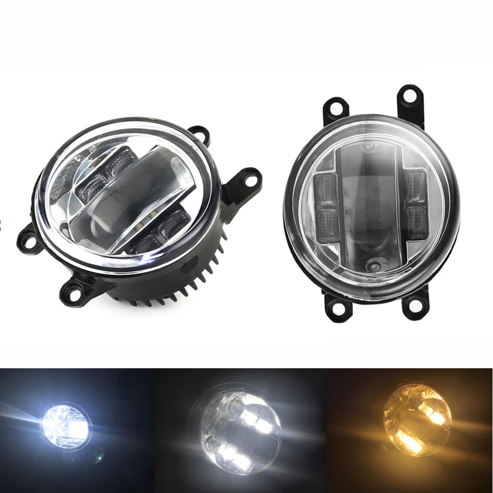 40W Car Led <font><b>fog</b></font> <font><b>light</b></font> Pair Replacement for <font><b>Lexus</b></font> Toyota GS450h IS <font><b>LX570</b></font> RX450h Corolla Rav4 Yaris Driving LED <font><b>fog</b></font> lamp <font><b>light</b></font> image