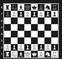 黒白のチェスボードチェスの駒写真の背景高品質のコンピュータプリント壁の背景