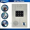 Apartamentos Two-way Intercom Porta Telefone SIP Porta de Controle de Acesso