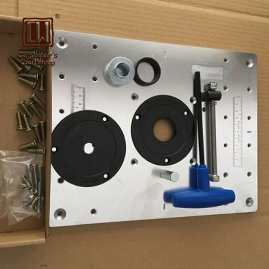 Router Insert Plate for CNC Engraving Machine Trimming Machine