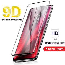 New 9D Full Cover Glass For Xiaomi redmi 6 6A 7 7A K20 Pro 4X 5A S2 Redmi Note 4 Tempered Screen Protector film cover