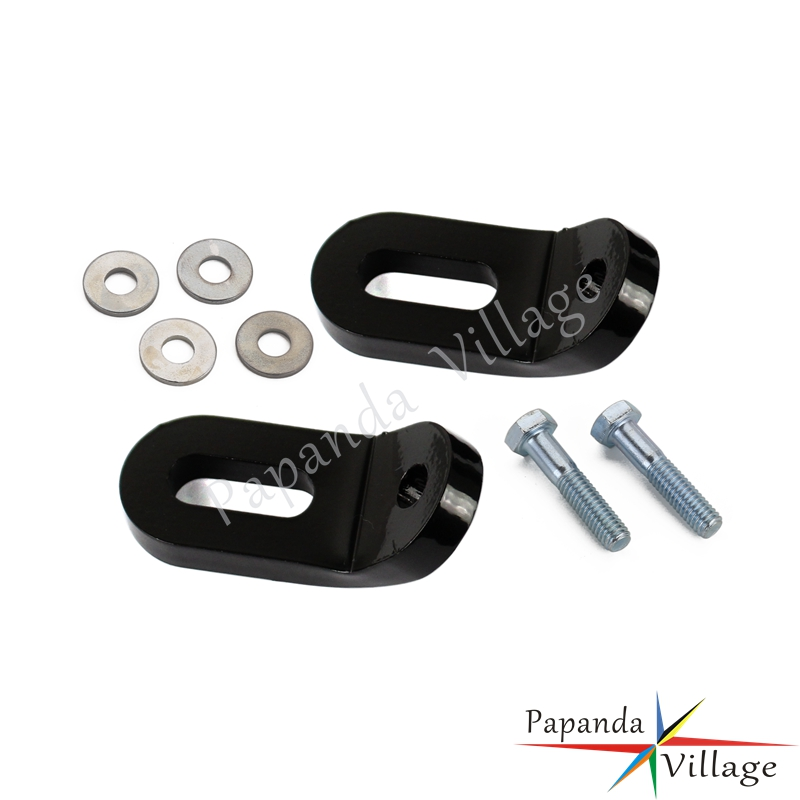 Black Motorcycle Steel Touchless Tie-downs Linkage Bracket Tank Tab Mounts For Harley Touring Models All Year Automobiles & Motorcycles Frames & Fittings