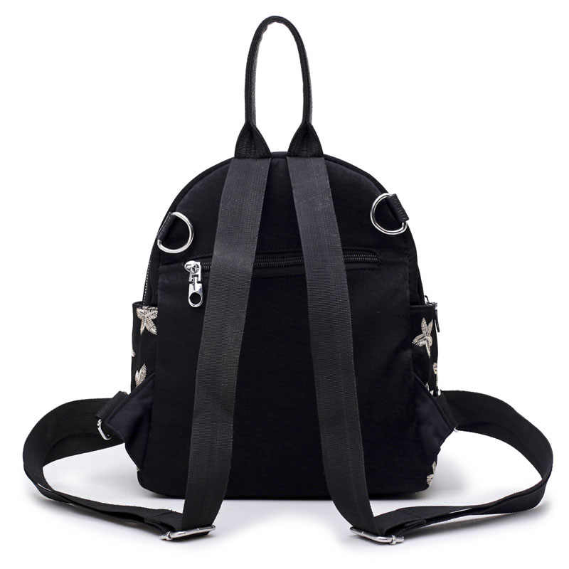 Женские рюкзаки высокого качества, модная велюровая Красная Женская Повседневная Студенческая сумка, дизайнерская женская сумка на плечо с принтом звезды, SAJOSE
