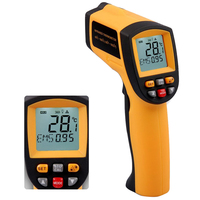 GM900 IR Infrared Thermometer Digital Temperature Meter 50~900C 58~1652F Pyrometer 0.1~1EM Celsius Termometro Infravermelho