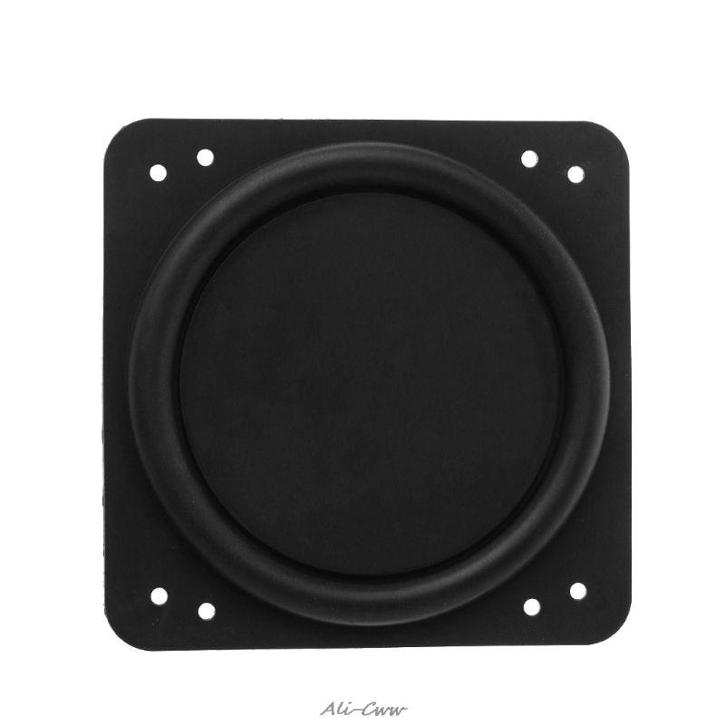 Bass Radiator Passive Radiator Speaker Rubber Auxiliary Bass Vibration Membrane For Subwoofer DIY 76x76mm