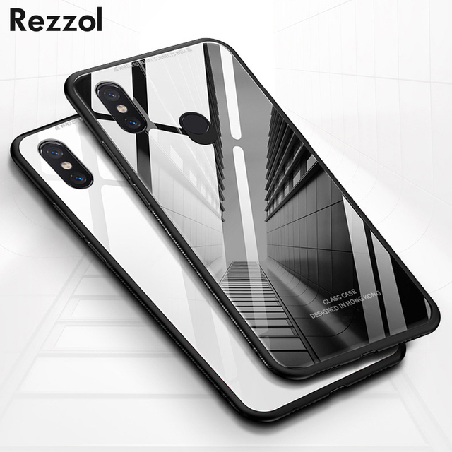 new concept 071ce cf48e US $3.59 26% OFF|Rezzol For Huawei Nova 4 Nova 3 Case Tempered Glass Back  Cover Phone Hard Case With Silicone Frame For Huawei P Smart Plus Capa-in  ...