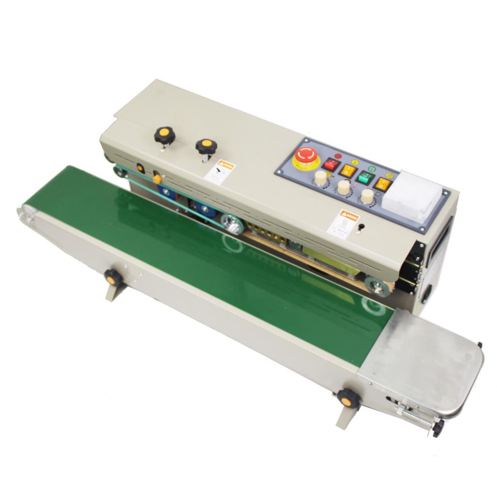 FRD-1000II Stainless Steel Solid Ink Band Sealer+black Colour Date Printing+teflon Belt+ink Roller+100% Warranty