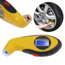2016 LCD Digital Car Motorcycle Tire Tyre Air Pressure Gauge Tester Tool For Auto
