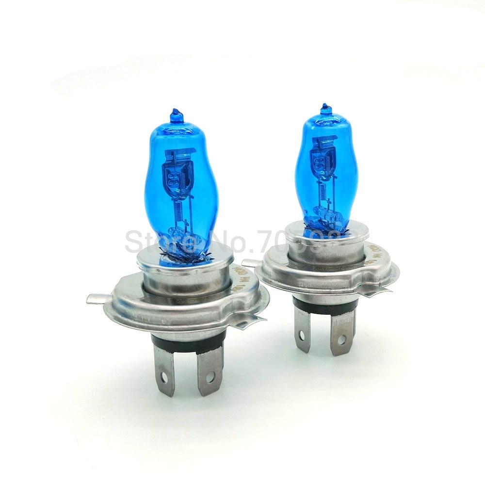 1 pair  H7 100W 6000K White Yellow 12V Auto Car HOD Halogen Fog Lights Bulbs Lamps Replacement Headlight Car Light Source дефлектор auto h k gt 36964