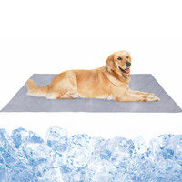 Dog Cooling Mat Pet Ice Pad Waterproof Pet Mat Houses Cat Dog Ice Pad Cold Sense Ice Pad Summer Kennel Mat Sofa Cushion K613
