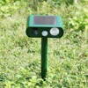 Solar Power Motion Activated Ultrasonic Cats Dogs Repeller Frighten Animal RC 510B For Outdoor Gardening Accessories
