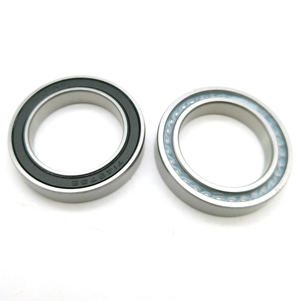 2pcs Bearing 7149788 19285RS 19285 19x28x5 19285F-RS Full Ball Deep Groove Ball Bearings, Single Row Bicycle Bearings