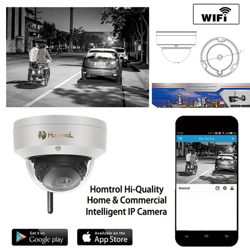 1.0 Megapixel Dome IP Camera Full HD 1280*720 P2P/ONVIF H.264 Indoor With IR-CUT Night Vision 720P IR Home Security Camera full hd ip camera 5mp with sound dome camera ip cam cctv home security cameras with audio indoor cameras onvif p2p