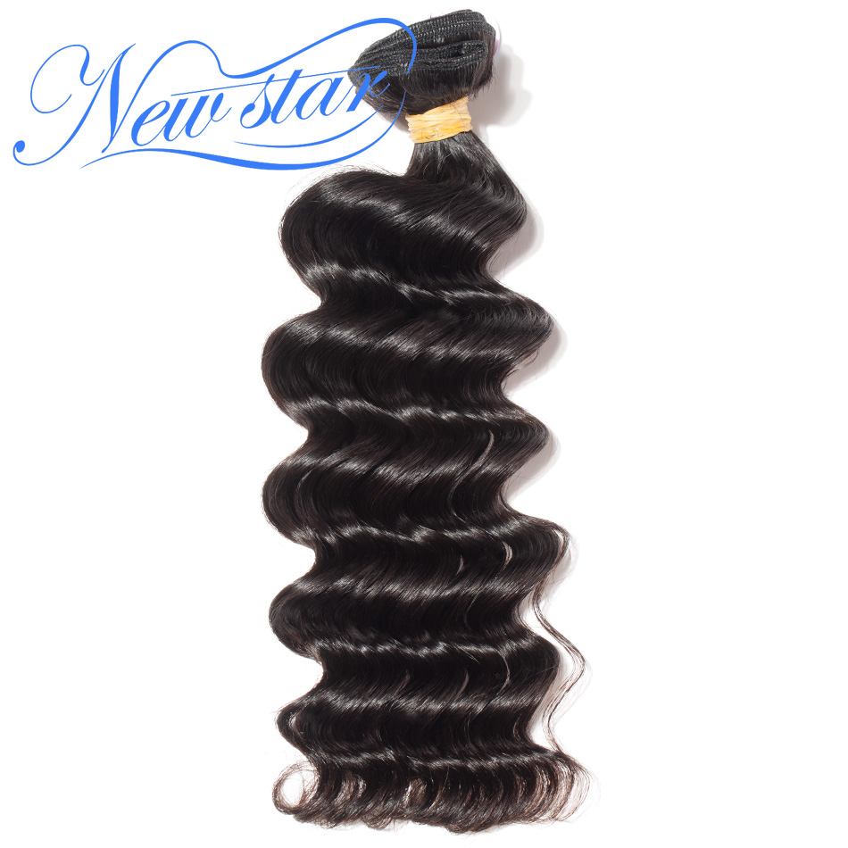 New Star Hair Brazilian Loose Deep Virgin Hair 1/3/4 Thick Bundles Natural Color 10A Unprocessed Full Human Hair Weaving