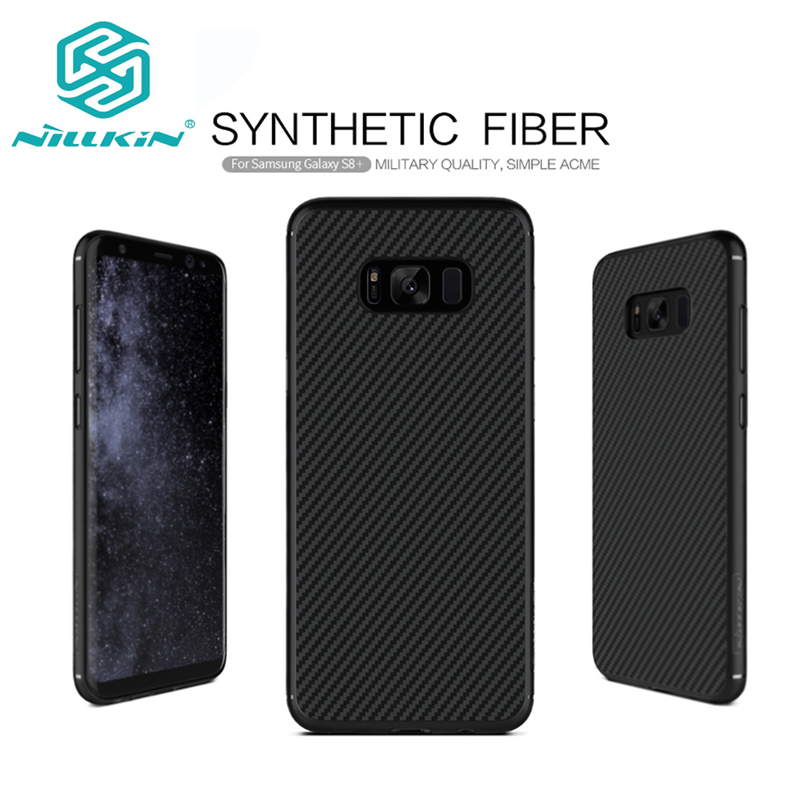 "Цена за Nillkin Synthetic Fiber Телефон чехол для Samsung Galaxy S8 5.8 ""Жесткий Чехол для Samsung Galaxy S8 плюс 6.2 ""Бесплатная доставка"