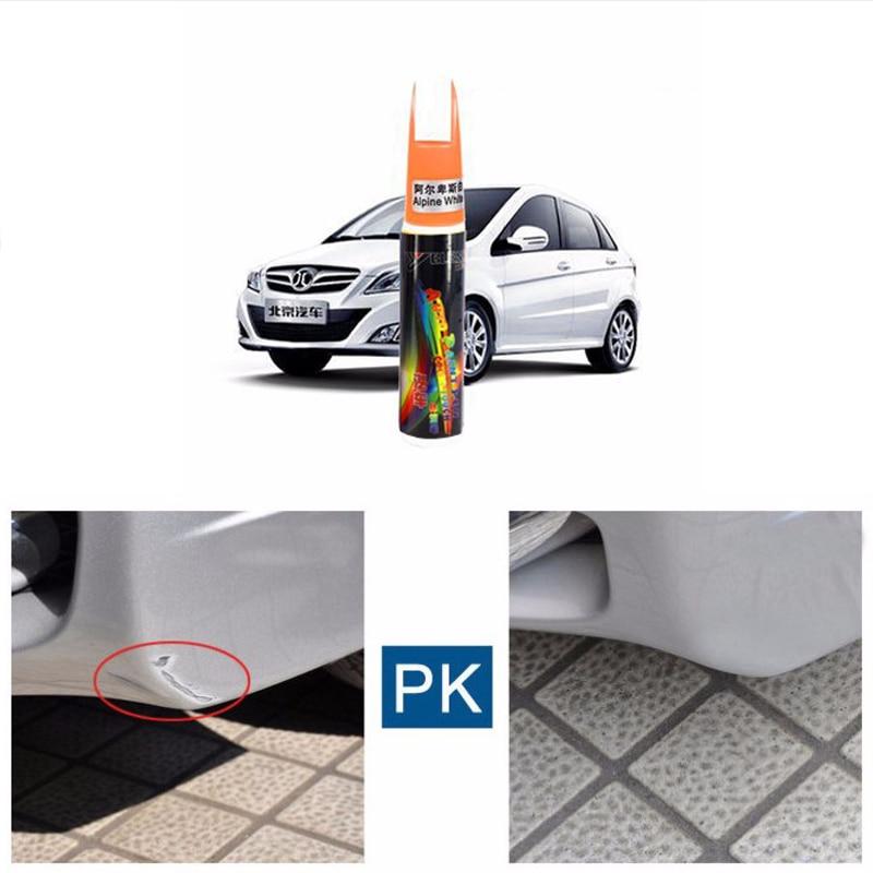 2017 1Pcs Car Pro Mending Car Remover Scratch Repair Paint Pen White Universal Auto Whatproof care products