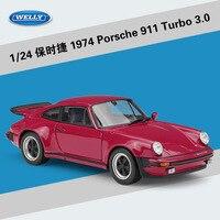 WELLY 1 24 Metal 1974 Porsch 911 Turbo3 0 Vehicles Sports Car Alloy Diecast Car Model