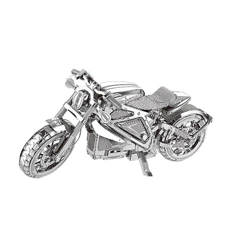 Nan juuan 3D Metal Puzzle Avenger Motorcycle DIY - ფაზლები - ფოტო 1