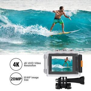 Image 5 - M80 4K عمل كاميرا 30FPS HD شاشة 20MP المضادة للاهتزاز للماء الرياضية WiFi عمل الكاميرا بطيئة الحركة/الفاصل الزمني كاميرا العمل