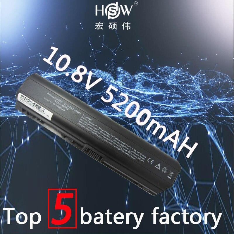 все цены на HSW laptop Battery For HP Pavilion DV2000 DV2700 DV6000 DV6700 DV6000Z DV6100 DV6300 DV6200 DV6400 DV6500 DV6600 batteria akku онлайн