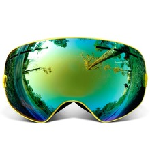 f6a2f1e54a64 COPOZZ brand professional ski goggles double layers lens anti-fog UV400 big ski  glasses skiing snowboard ...