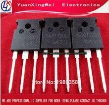 10 pièces livraison gratuite 100% nouveau original IKW40N120T2 K40T1202 K40T120 TO 247 de nouveau IGBT simple 1200V40A