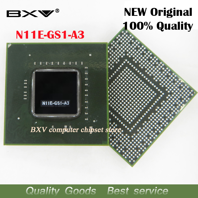 N11E-GS1-A3 N11E GS1 A3 100% original new BGA chipset free shipping with full tracking messageN11E-GS1-A3 N11E GS1 A3 100% original new BGA chipset free shipping with full tracking message