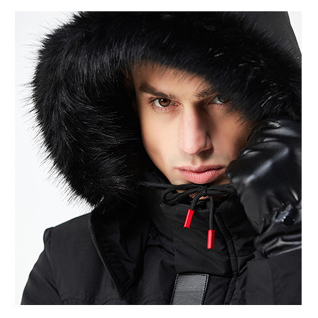 New Thick Parkas Winter Coat Mens Men's Thickening Warm Jacket Youth Casual And Handsome Cotton Padded Jackets Men Fashion Coats