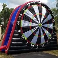 adults Soccer kick target dart board/Inflatable football foot darts game Outdoor Sport Game Football Soccer Darts