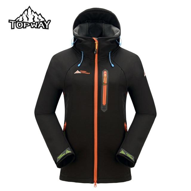 69c349434 Hot Sale Spring Autumn Water Resistant Softshell Jacket Women Trekking Coat  Windstopper Anti-Wear Outdoors