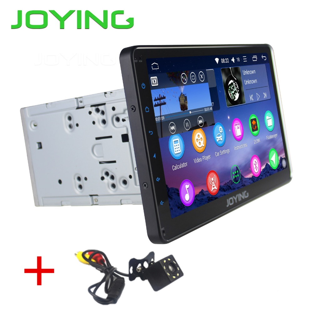 Joying 2 din Android 8.0 Car radio cassette recorder 10.1'' Stereo 2G RAM Octa Core  HD Full Touch Screen GPS Navigation camera