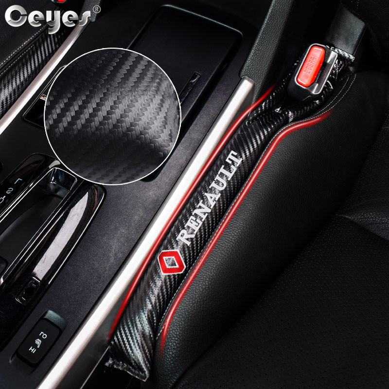 Ceyes Car Styling Leak Proof Sticker Leakproof Seat Gap Strips Covers Pad Case For Renault Laguna 2 Megane 3 Fluence Accessories