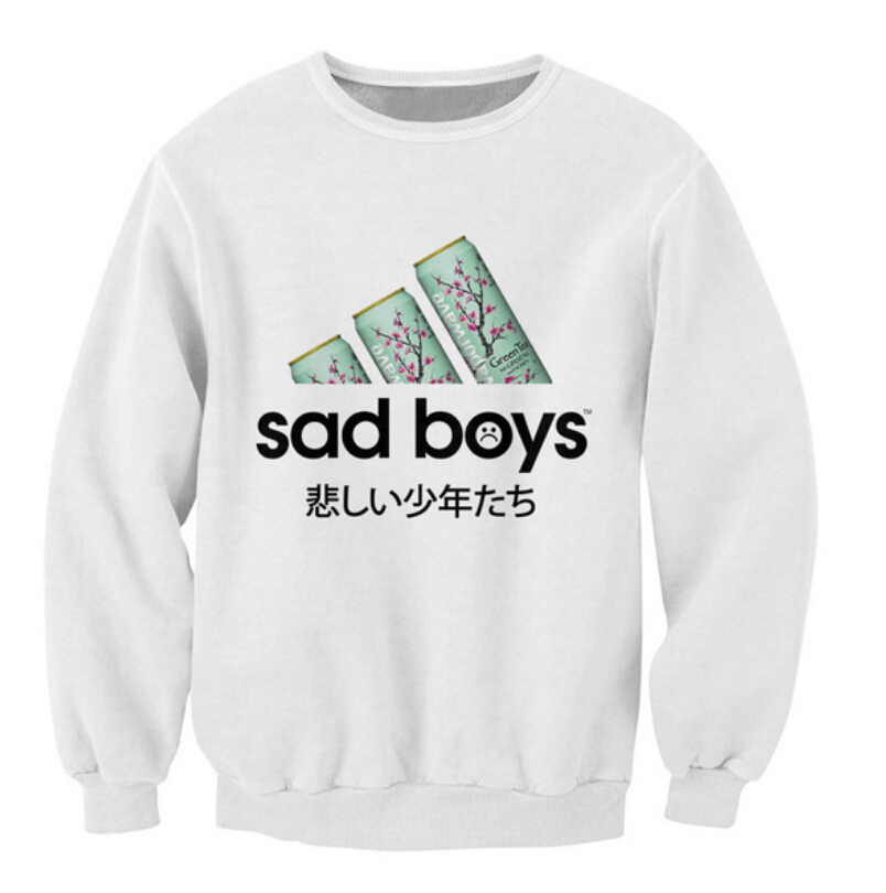Sad Boy Alone Quotes: Online Shopping Crazy Hoodie