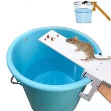 цена на Home Garden Pest Controller Rat Trap Quick Kill Seesaw Mouse Catcher Bait Home Rat Traps Mouse Pest Animal Mice Rodent Repeller