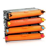 593-10289 BK 5593-10290 C 593-10292 M 593-10291 Y renkli Toner kartuşu 9K sayfalar için toner kartuşu Dell 3130 için uyumlu