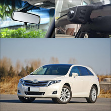 BigBigRoad Toyota Venza için 2013 araba Wifi DVR Video kaydedici gizli kurulum Novatek 96672 g sensor geniş açı