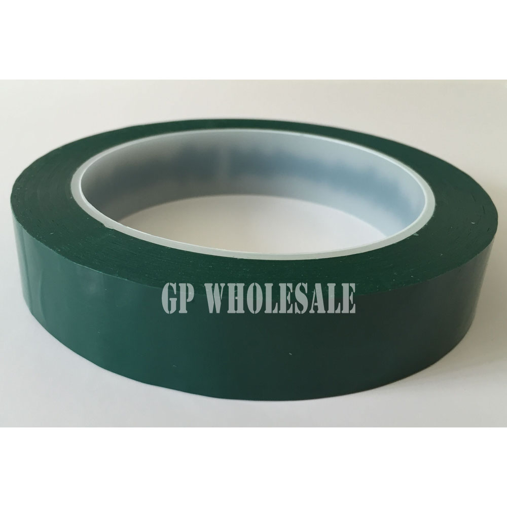 10cm, 100mm*66M Single Face Glued Insulating Mylar Tape for lithium-ion battery, Fireproof, Green 95mm 66m single face adhesive insulating mylar tape for transformers fireproof white