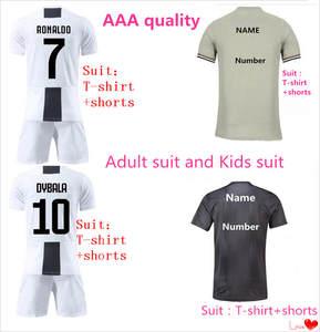 11059cd906a LANSHI Kids Juventusing Soccer jersey football Shirts