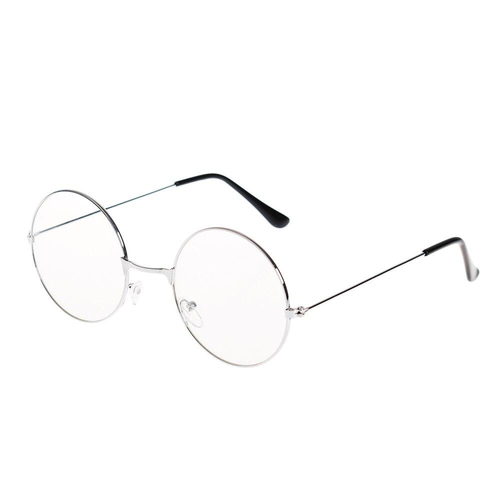 3ae556887cb Women Men Large Oversized Metal Frame Clear Lens Round Circle Eye ...