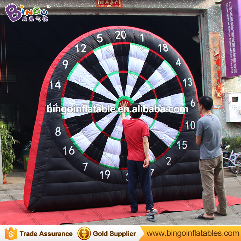 Hot sale cheaper 3X3 meters inflatable football dart board blow up dart board inflatable soccer dart games for kids outdoor toys hot outdoor games inflatable football shoot game inflatable football darts inflatable soccer kick games for kids n adults