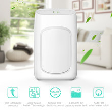 Dehumidifier Mini Home 700ml Water Tank Portable Electric Ultra Quiet Air Cleaner for Home, Kitchen, Wardrobe, Basement(China)
