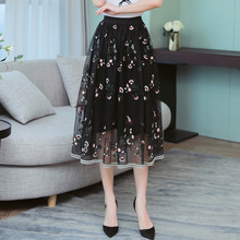 5c0a410d6 Compra floral mesh skirt y disfruta del envío gratuito en AliExpress ...