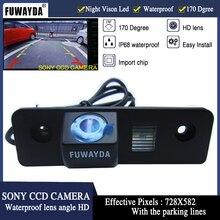 Fuwayda Ночное видение 170 »широкий угол зрения Водонепроницаемый Sony CCD заднего вида Обратный Камера для VW Skoda ROOMSTER Octavia fabia