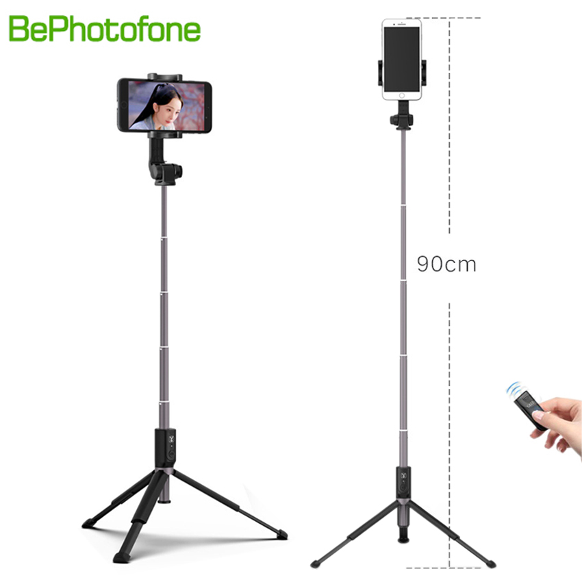 2018 NEW Selfie Stick Tripod Stand 3 in 1 Extendable Monopod Bluetooth 3.0 Remote Phone Mount for iPhone X 8 Android SmartPhone цена