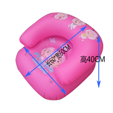 Inflatable Pvc Sofa Children Swimming Chair Child Cartoon Single Person Sofas Color Random Delivery 2-4 Years Inflatables