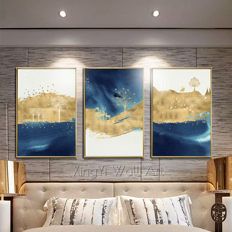Gold art Abstract painting on canvas wall art pictures for living room home hallway wall decor gold acrylic texture quadro decorGold art Abstract painting on canvas wall art pictures for living room home hallway wall decor gold acrylic texture quadro decor