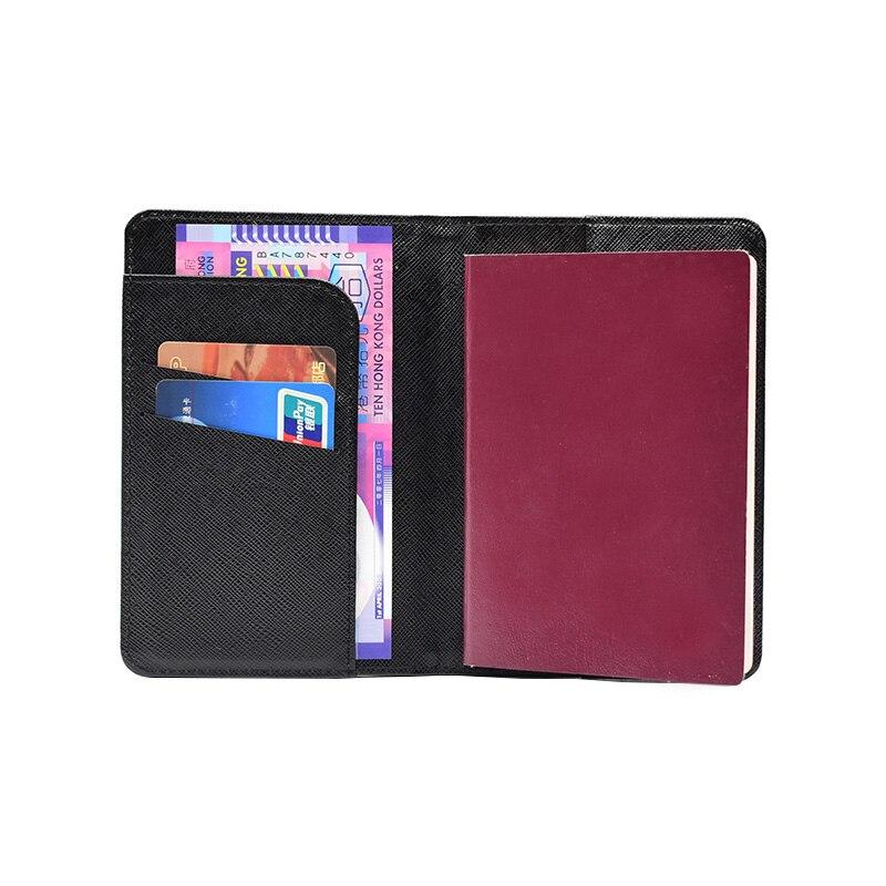83c8c41ae6c4b8 HEQUN Harry Potter Passport Cover RFID Pu Leather Hogwarts Express 9 3/4  Platform Passport Holder HP Passport Case Drop Shipping-in Card & ID  Holders from ...