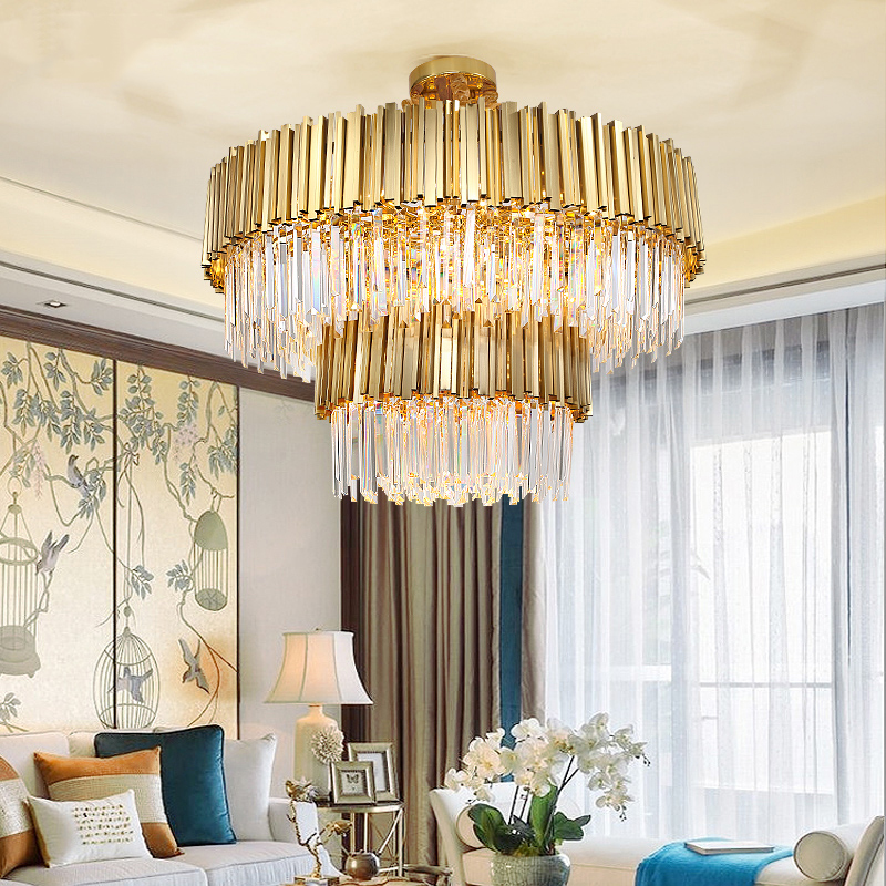 Vienxim Living room chandelier post modern creative personality art light luxury crystal restaurant luxury designer Nordic lamps