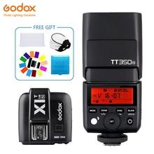 Godox TT350 Mini TT350N Speedlite flash TTL 2.4G+X1T-N Transmitter Wireless Flash Trigge for nikon Camera D800 d700 D7100 D700
