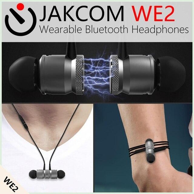 JAKCOM WE2 לביש חכם אוזניות מכירה חמה אלחוטיים קבועים כמו בקר ptz אלחוטי פקס 170 Mhz